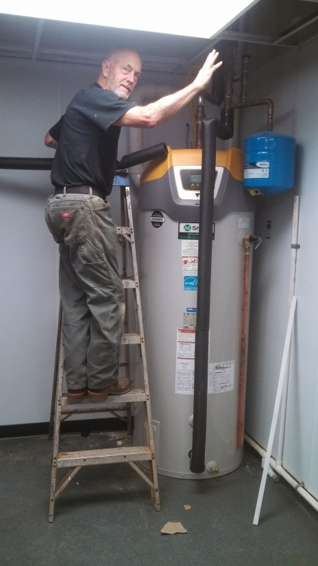 commercial water heater installation asheville nc